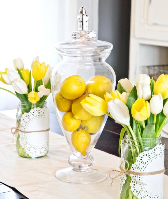 easy-spring-centerpiece-idea