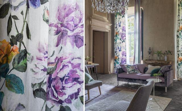 Designers Guild audiniu kolekcija _Couture Rose__2